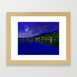 Lake Schliersee Germany Framed Art Print