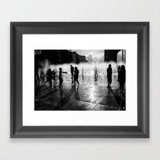 Concrete Beach Series (5) Framed Art Print