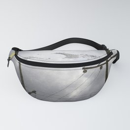 Reflections on Perpendicular Lines Fanny Pack