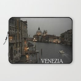 Canal grande night fall Venice Laptop Sleeve