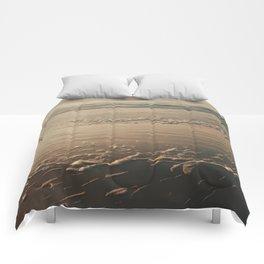 Deep Wide Ocean Comforters