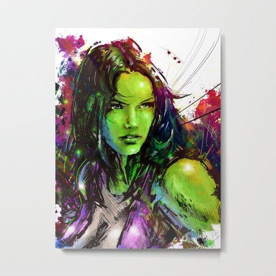She-Hulk Metal Print