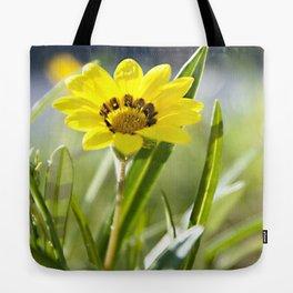 Beachside Flower Tote Bag