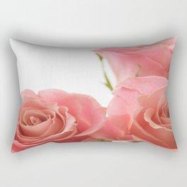Three Roses Rectangular Pillow
