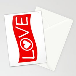 Love/Heart Stationery Cards