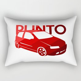 Fiat Punto - classic red - Rectangular Pillow