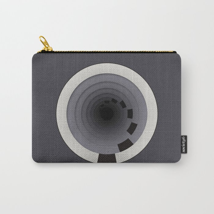Circles Around Circles Carry-All Pouch