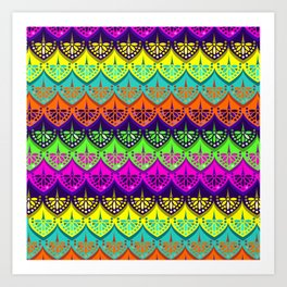 Elena Pattern Art Print