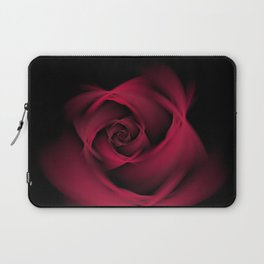 Abstract Rose Burgundy Passion Laptop Sleeve