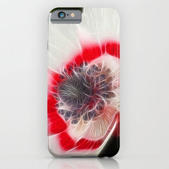Multi Coloured Anemone iPhone & iPod Case