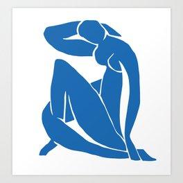 Matisse Cut Out Figure #2 Art Print