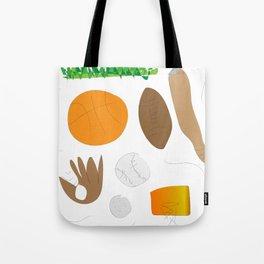 Sports Nut (Jaidyn) Tote Bag