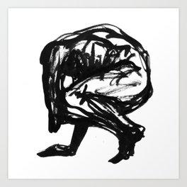 Boceto gestual 5 Art Print