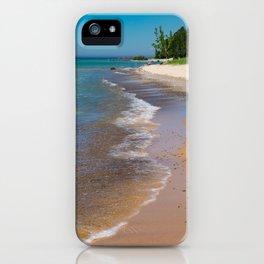 Lake_Michigan Beach, Charlevoix - III iPhone Case