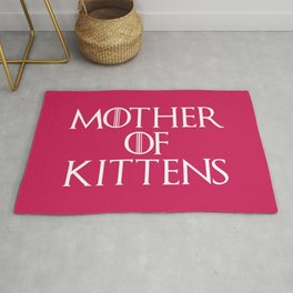 Mother Of Kittens Funny Quote Rug
