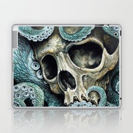 Please my love, don't die so far from the sea... Laptop & iPad Skin