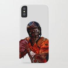 Peyton Manning zombie iPhone X Slim Case