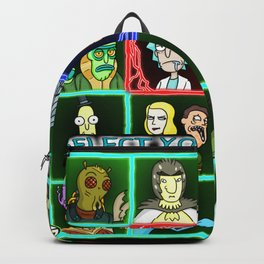 Rick Selects His Character Backpack