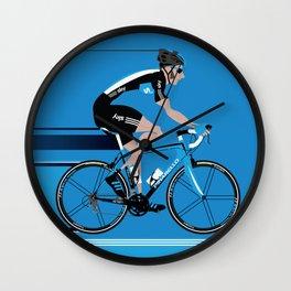 Bradley Wiggins Team Sky Wall Clock