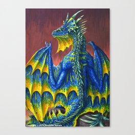 Horned Dragon Canvas Print