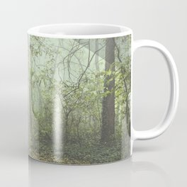 Walk in the Surreal Misty Forest Coffee Mug