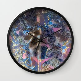Oriental Ancient Warrior Procession Wall Clock