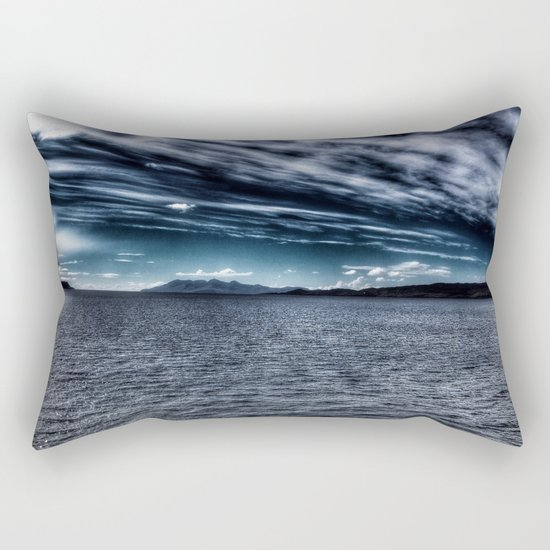 Speed Bonnie Boat Rectangular Pillow