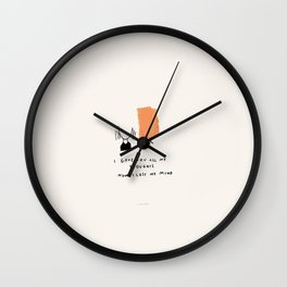 Dependency II: Every Thought A Thought For You, Where Did I Go? Wall Clock