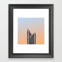 LND CLR X4 London Colour Architecture Art Framed Art Print