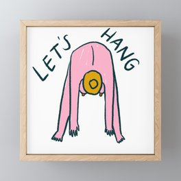 Let's Hang Framed Mini Art Print