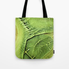 Lime Green . Art of Nature Tote Bag