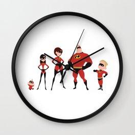 The Incredibles Wall Clock