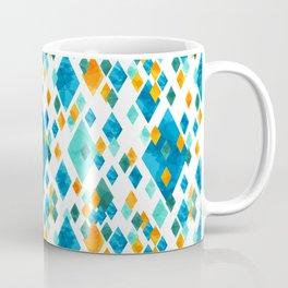 Topsy Turvy Turquoise Coffee Mug