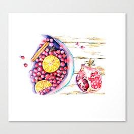 Wine&Cinnamone Canvas Print