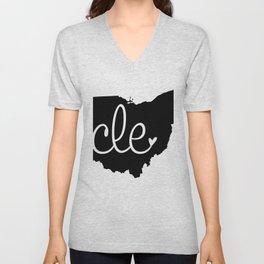 Love Cleveland Unisex V-Neck