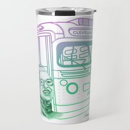 Rosa Parks, Courageous Woman Travel Mug