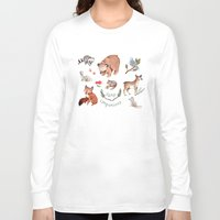 camp Long Sleeve T-shirts featuring Camp Companions by Brooke Weeber