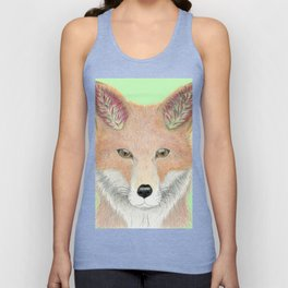 All Ears Fox Unisex Tank Top