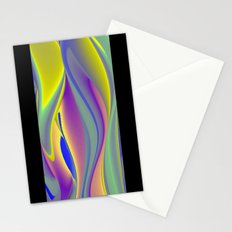 Abstract Rainbowart in retrostyle 10 Stationery Cards