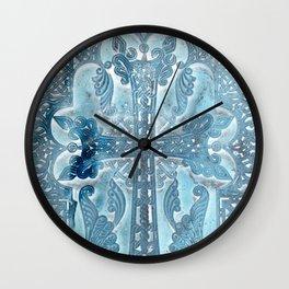 Celtic Blue - JUSTART © Wall Clock