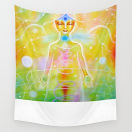 Reconnection Angel Wall Tapestry