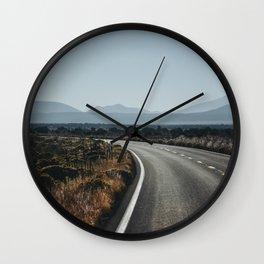 Early Morning Horizon. American Roadtrip. Arizona, United States of America. Fine Art Travel Print. Wall Art. Wall Clock