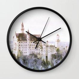Fairytale Castle 2 Wall Clock