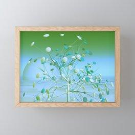 good night, sleep tight -3- Framed Mini Art Print