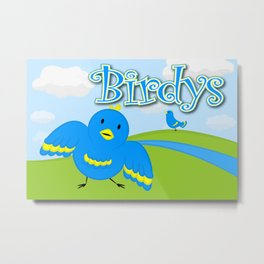 Birdy's Metal Print