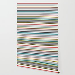 grey and colored stripes Wallpaper
