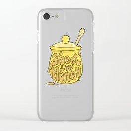 SWEETLIKEHONEY Clear iPhone Case