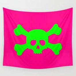 Toxic Skull Wall Tapestry