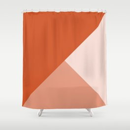 Orange Tones Shower Curtain
