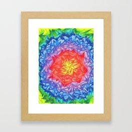 Colors of Colours Framed Art Print